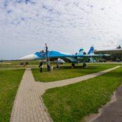 Боровая СУ-27 в профиль