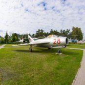 Боровая старые самолеты