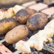 Жэсць шашлык картошка