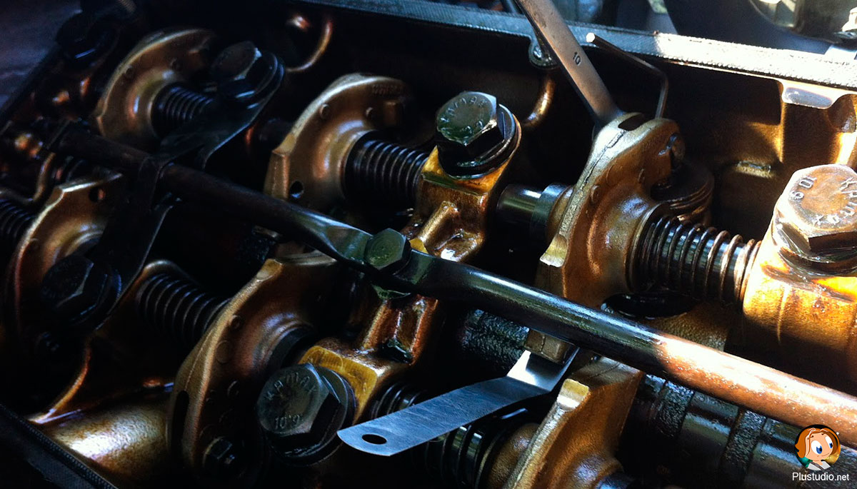 регулировка клапанов BMW