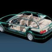 BMW 5 E39 рентген