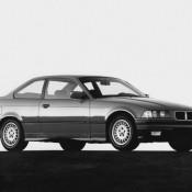 BMW E36 купе с боку