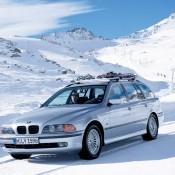BMW E39 в горах
