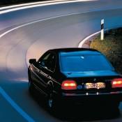 BMW E39 в ночи