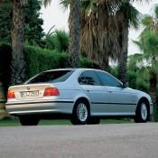 BMW E39 зад