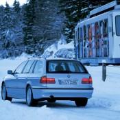 BMW E39 зимой