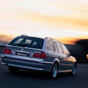 BMW E39 на закате