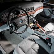 BMW E39 салон светлый