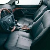BMW E39 черный салон