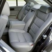 BMW M5 E34 задний диван