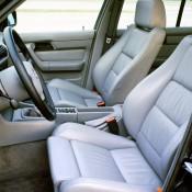 BMW M5 E34 кресла