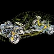 BMW M5 E34 рентген