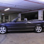 BMW M5 E34 синий