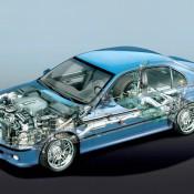 BMW M5 E39 рентген