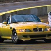 BMW Z3M желтый
