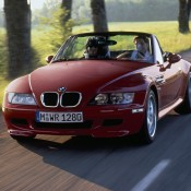 BMW Z3M красный