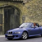 BMW Z3M синий