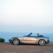 BMW Z4 в профиль