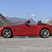 BMW Z4M красный