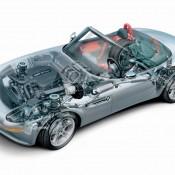 BMW Z8 рентген