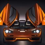 McLaren F1 оранжевый