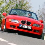 bmw z3 красный