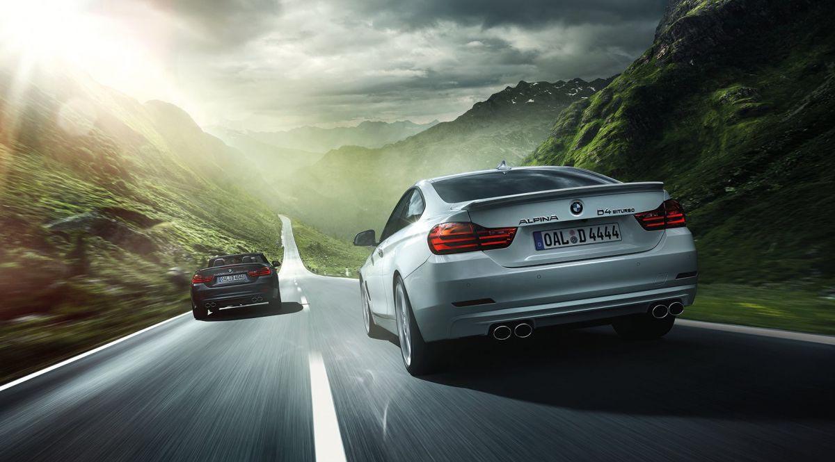 Новая BMW Alpina D4