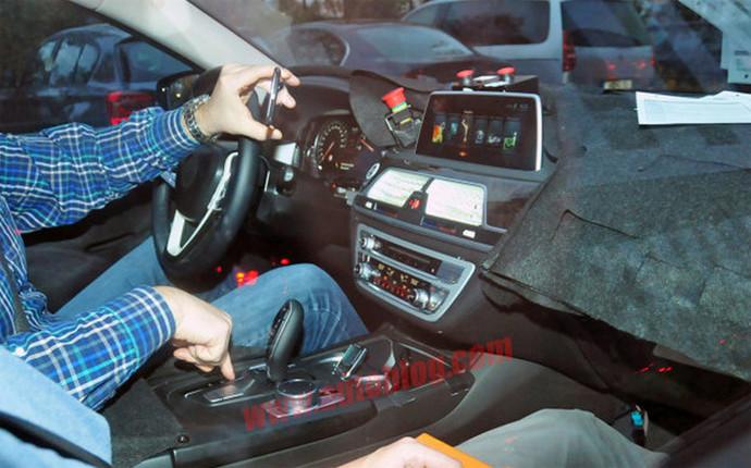 Салон новой BMW 7 2015