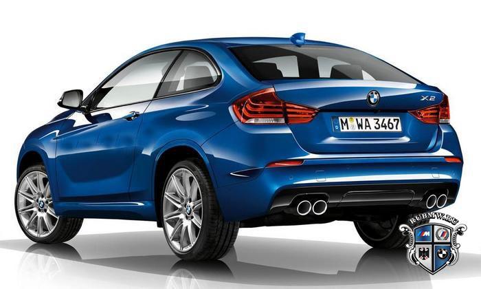 BMW X2 зад
