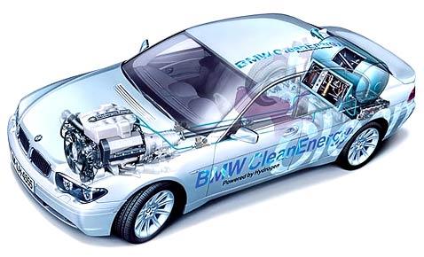 BMW i5 оснастят топливными элементами от Toyota