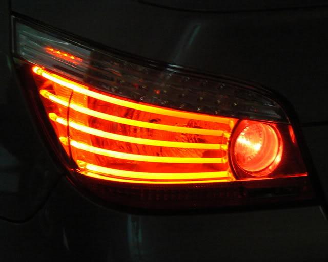 Новая задняя оптика от BMW