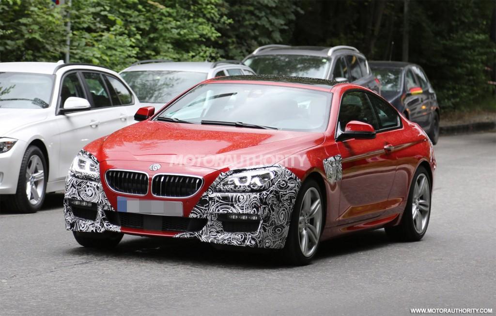 Обновленная BMW 6