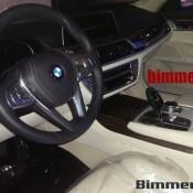 BMW 7 2015 салон