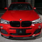 BMW X4 перед