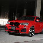 BMW X4 передок
