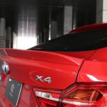 BMW X4 хвост