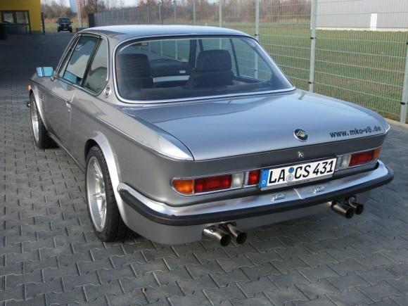 BMW E9 M5 выхлоп