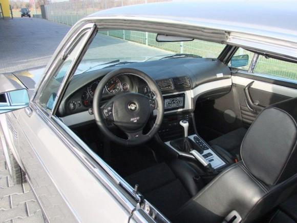 BMW E9 M5 салон