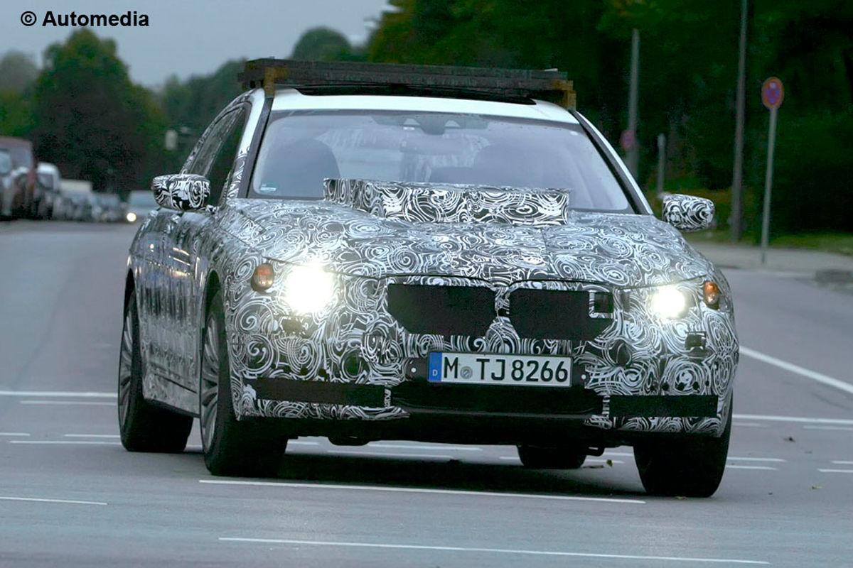 BMW X7 передняя часть