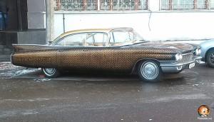 пример оклейки автомобиля