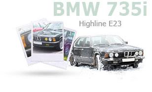 BMW 735i highline E23