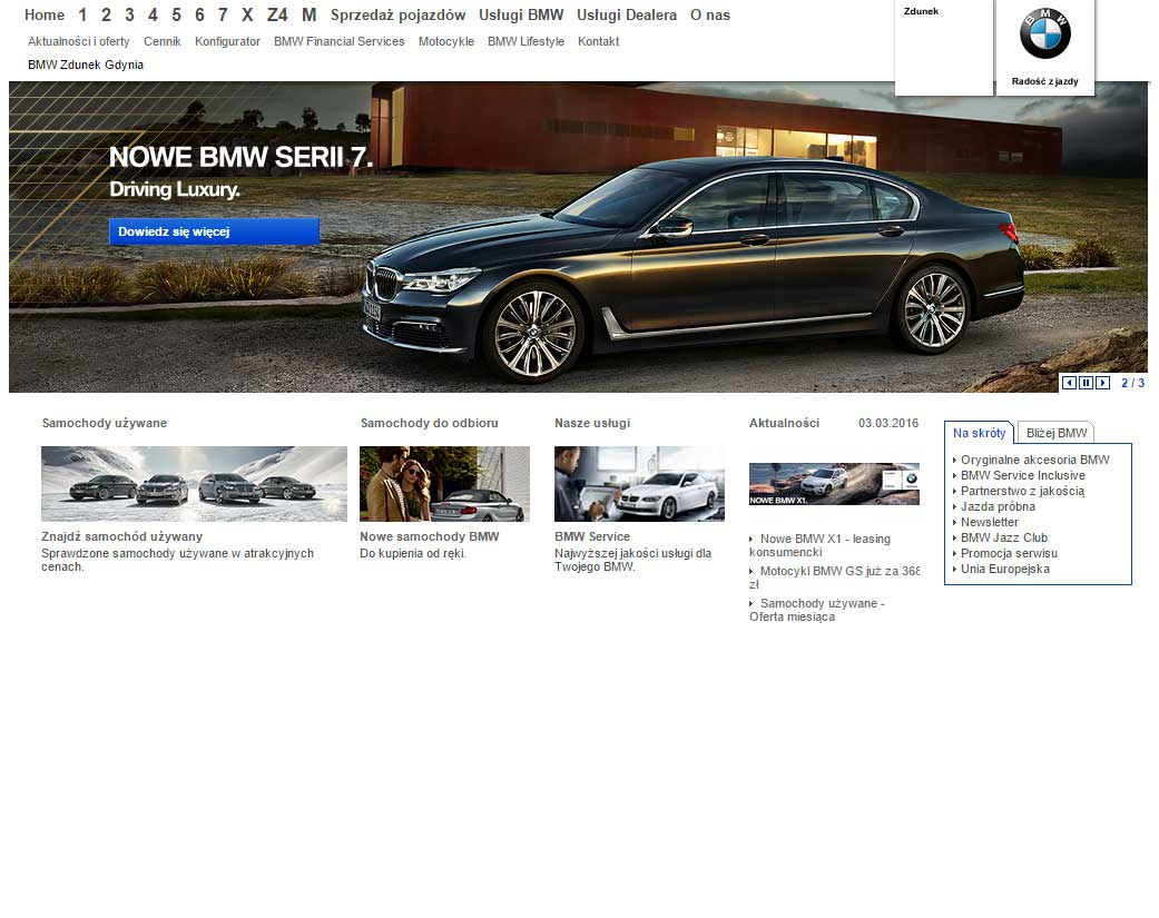BMW Zdunek Auto Premium, Miałki Szlak 43/45