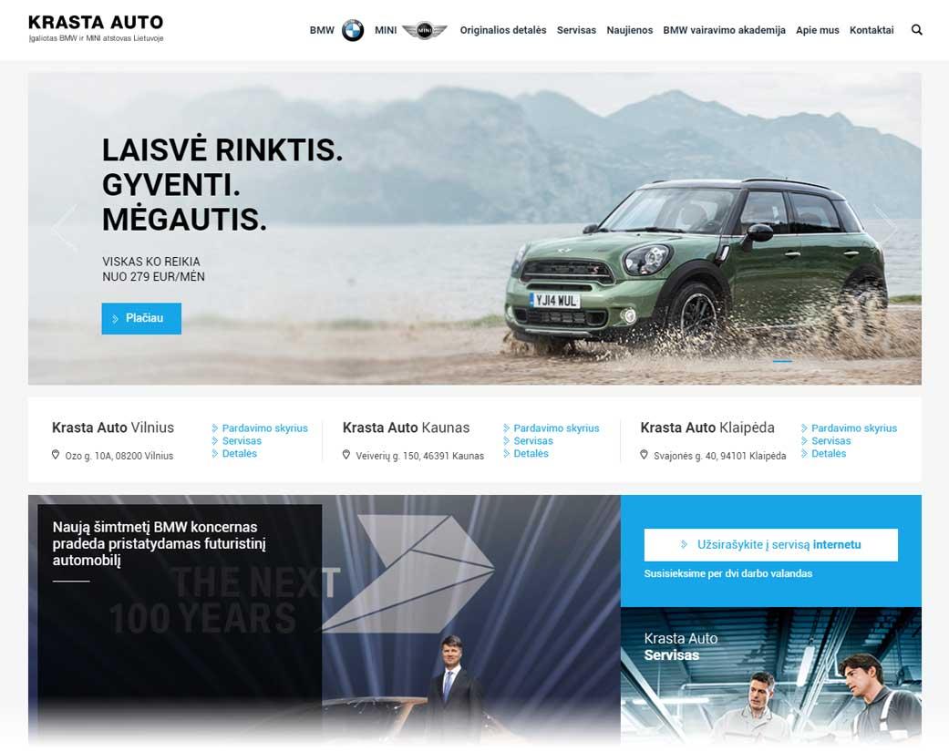 Krasta Auto Kaunas, Veiverių g. 150
