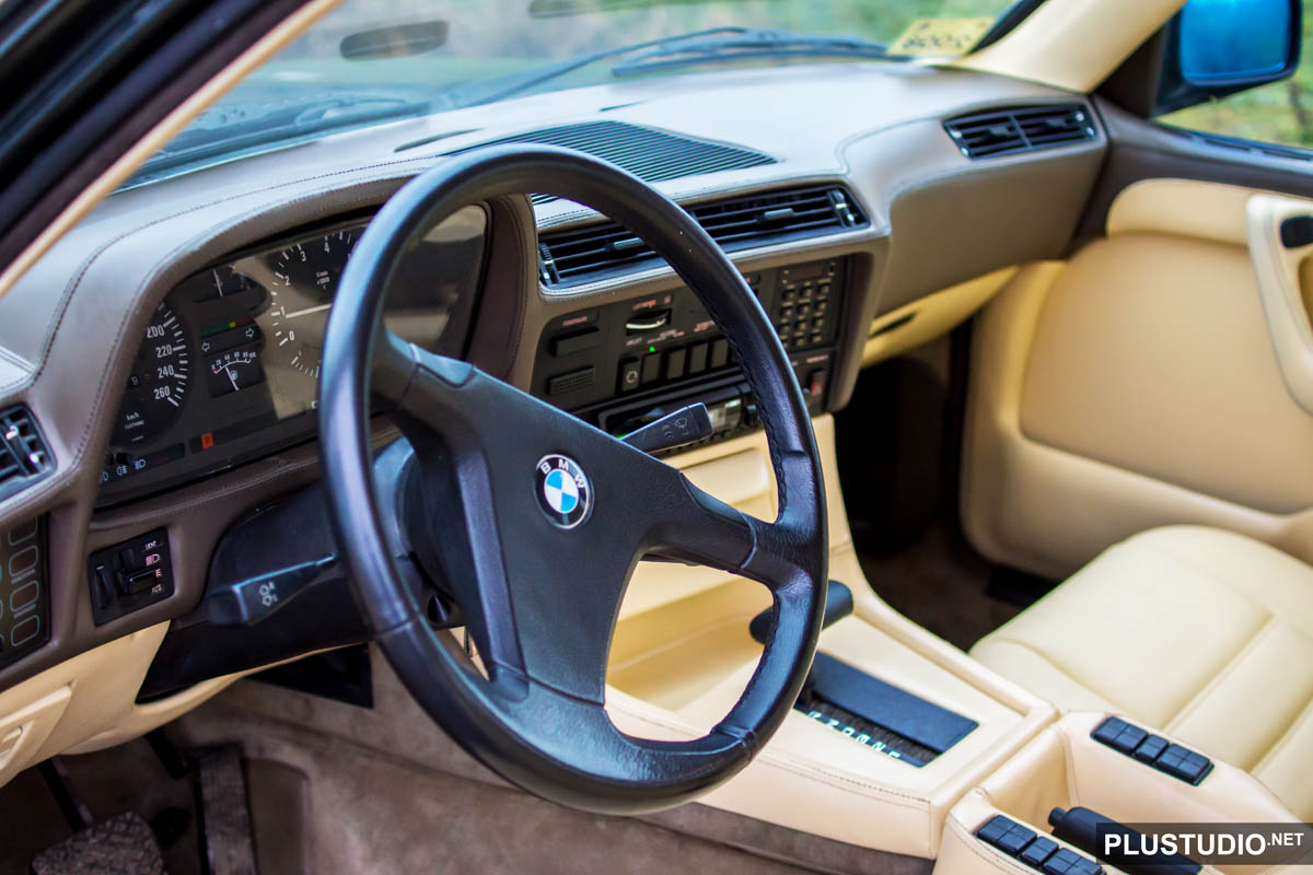 bmw 735i Highline e23 салон