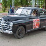retro rally belarus Победа