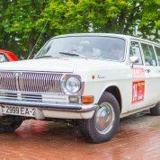 retro rally belarus Волга