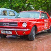 retro rally belarus Мустанг