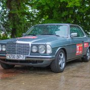 retro rally belarus Mercedes w123