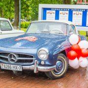 retro rally belarus Mercedes