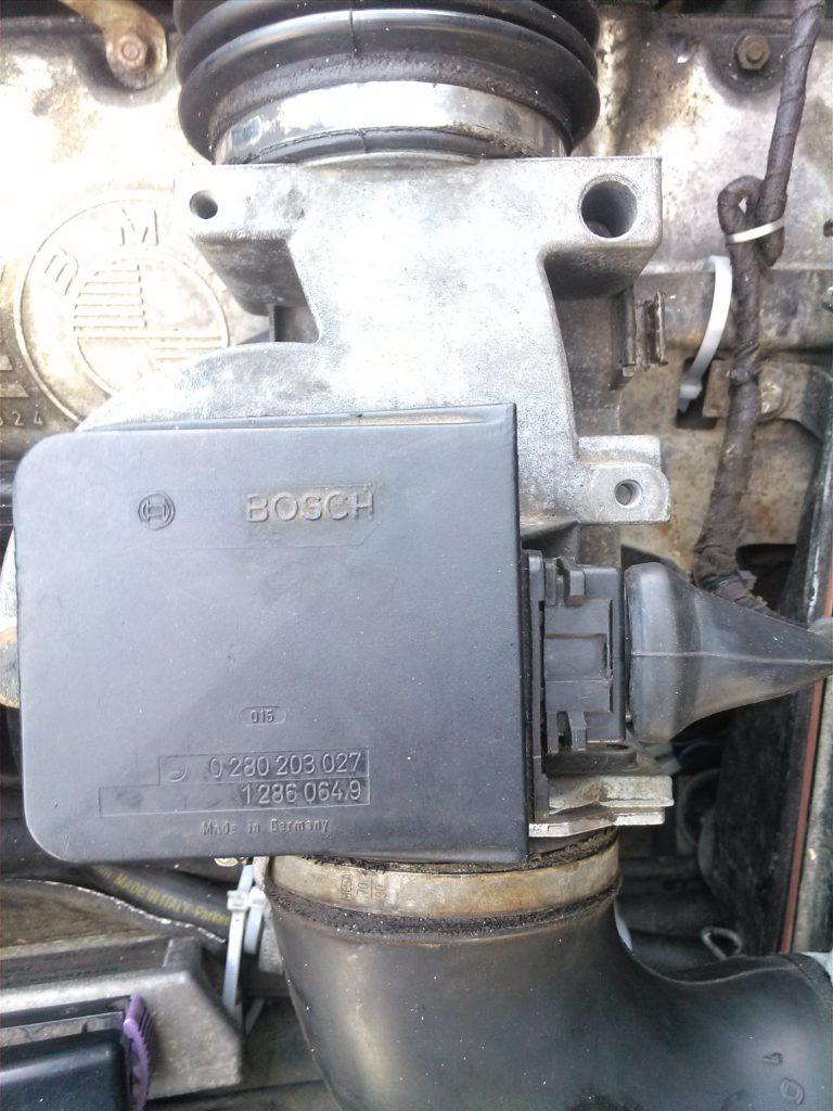 Бесконтактный расходомер на BMW M30, дпдз, бесконтактный дпдз